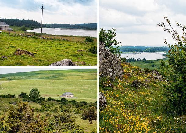 Tempted by a commanding view, we set off on a hike around Lac du Pecher