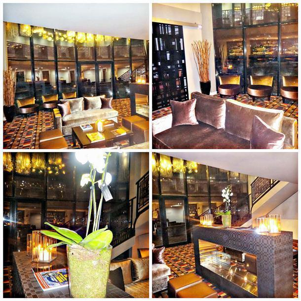 The Augustin's inviting hotel bar
