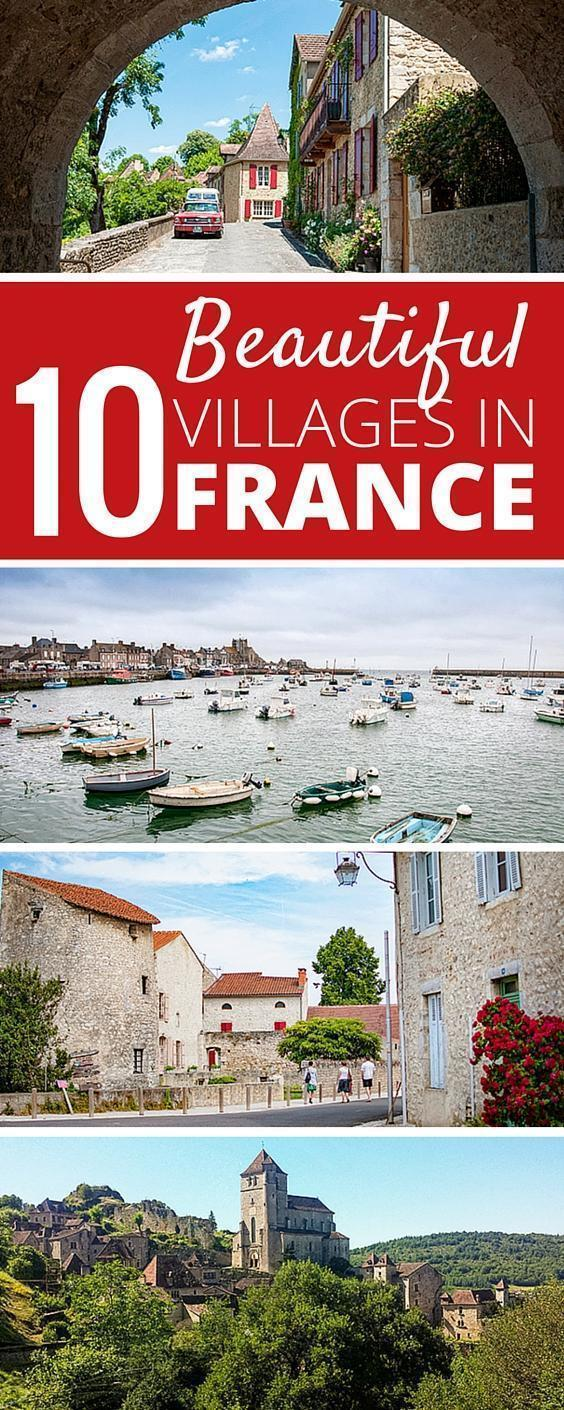 10 Beautiful Villages in France with the Plus Beaux Villages en France designation