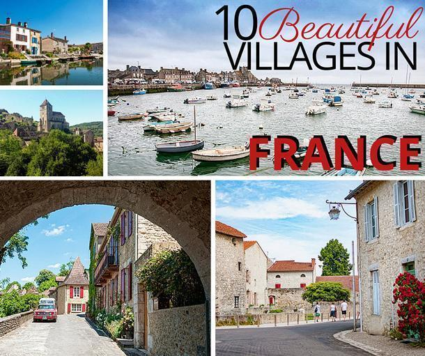 10 Beautiful Villages in France