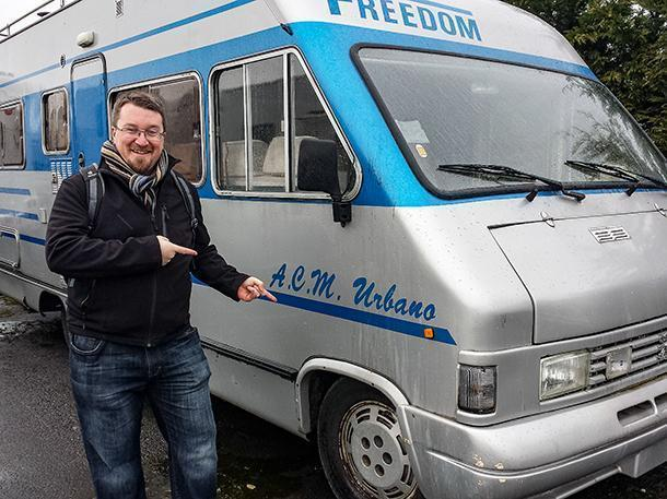 This time last year, we were shopping for motorhomes in Belgium...