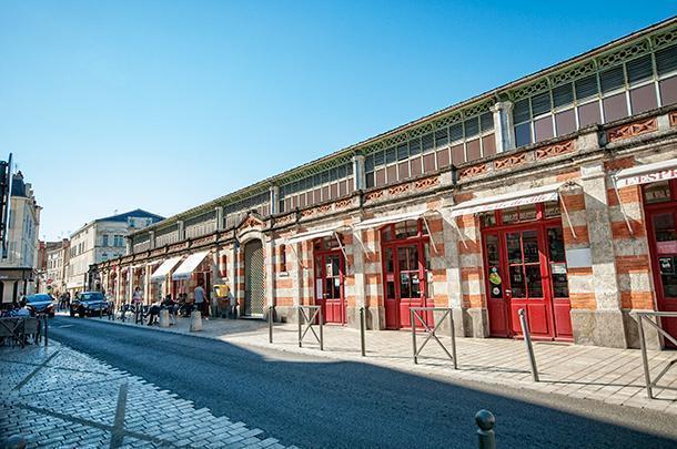How did we manage to miss La Rochelle's market, the Marché Aux Halles?