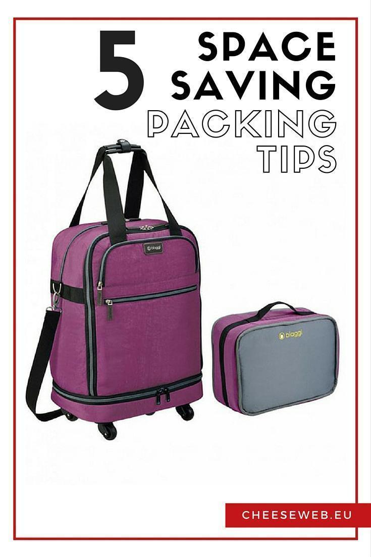 Our 5 Top Space Saving Packing Tips