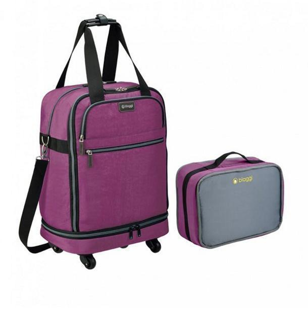 Biaggi collapsible suitcases