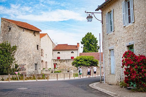 How could we not love Charroux with its artisans and gourmet treats?