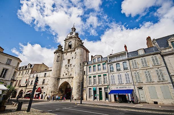The are plenty of historic monuments to discover in La Rochelle's Vieux Port.