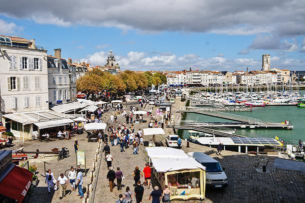 How could we not be seduced by La Rochelle's colourful harbour?