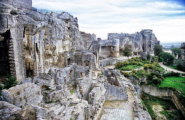 Les Baux-de-Provence was the first Plus Beaux Village we ever visited and the crumbling fortress on top was fun to explore.