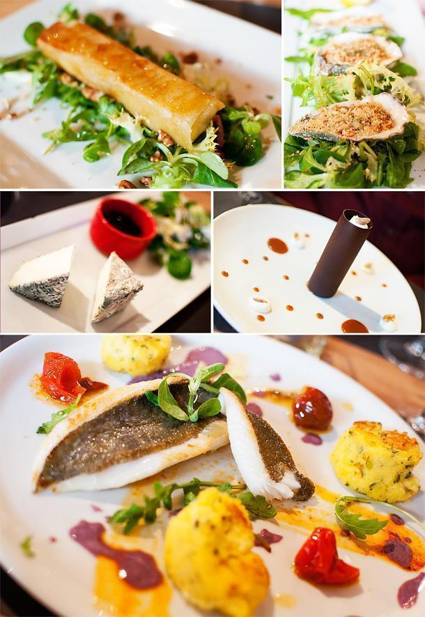 Fresh, colourful, delicious dishes at Prao Restaurant, La Rochelle