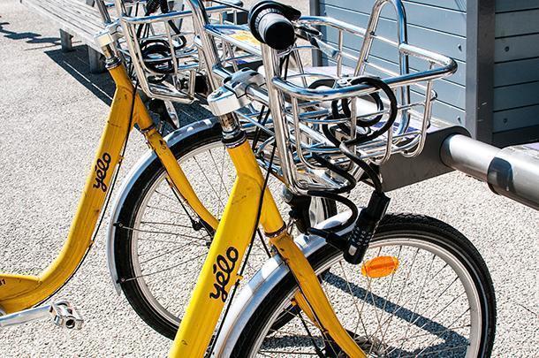 La Rochelle's Yelo bikes