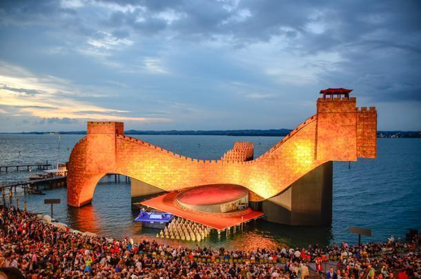 See a show on water at the Bregenz festival