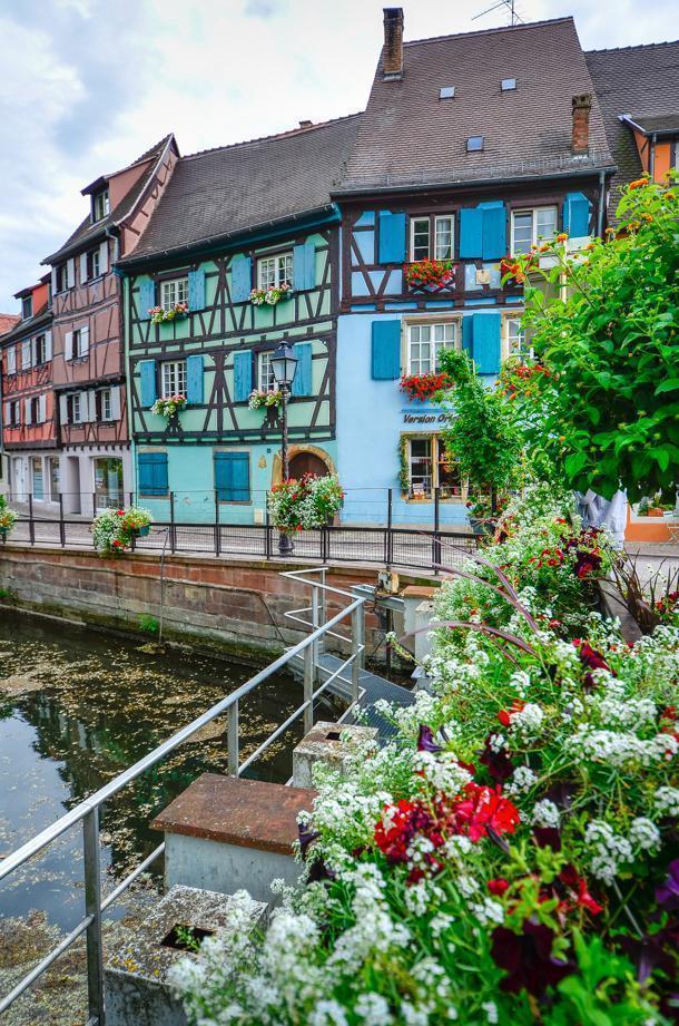 Visit colourful Colmar, France