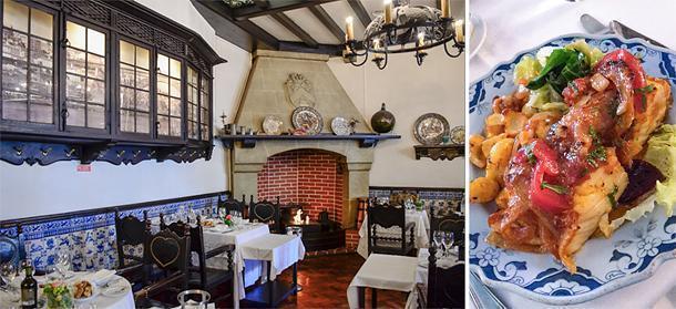 Cosy Escondidihno traditional Portuguese restaurant