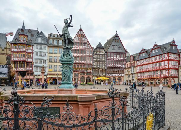 Frankfurt, Germany's historic Old Town