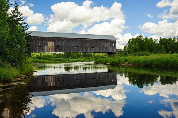 There are 60 covered bridges around the province. (photo: Tourism New Brunswick, Canada)