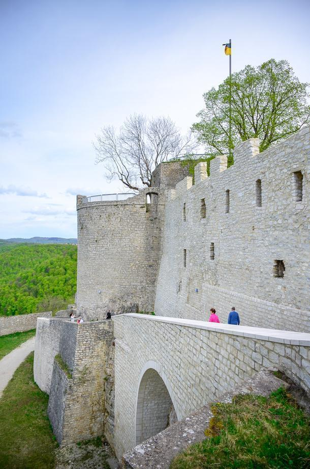 Hohenneuffen Castle is a great choice for an outing