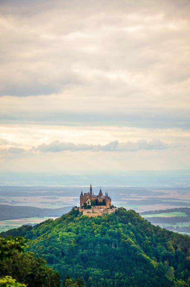 Hohenzollern Castle is an easy day trip from Stuttgart