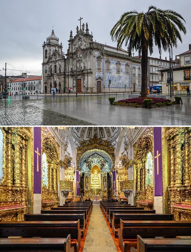Iglesia de los Carmelitas, Porto, Portugal