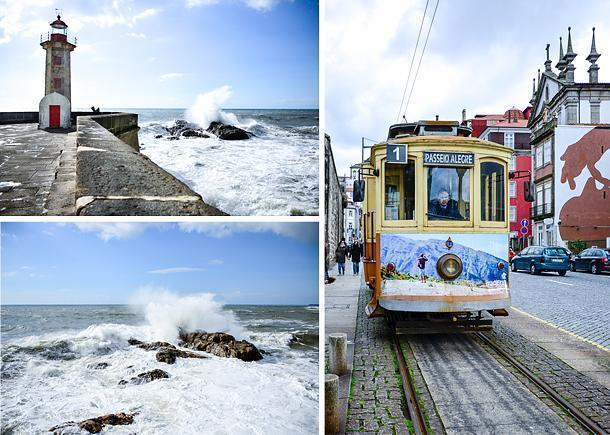 Take the tram to Lady of Light Lighthouse on Porto's coast