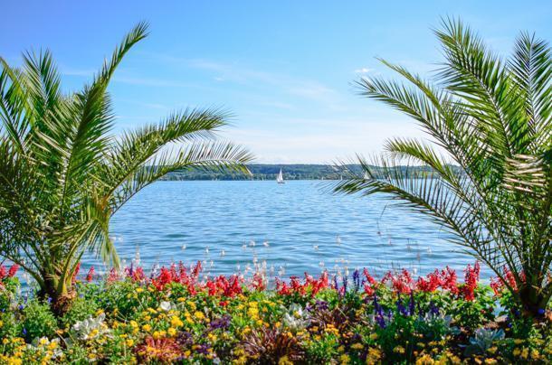 Lake Konstanz, lush Uberlingen
