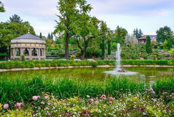 The beautiful Luwigsburg palace grounds