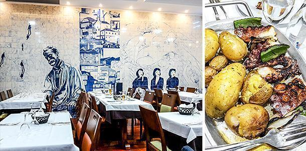 Madureira's restaurant, Porto, Portugal
