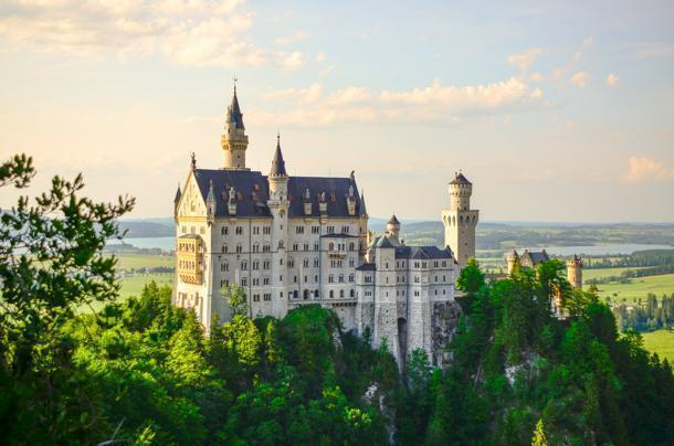 Neuschwanstein is Germany's most famous Castle