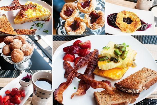 The epic breakfasts at Quartermain House