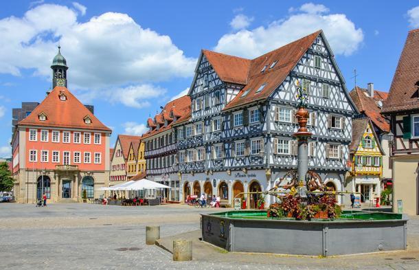 Schorndorf  is a fairytale town