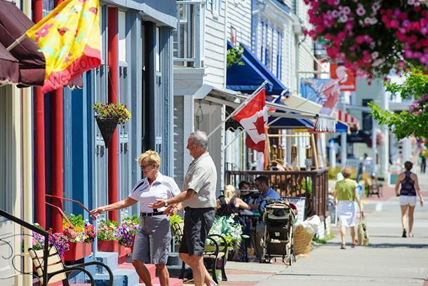 New Brunswick is filled with courful, friendly small towns like St. Andrew's