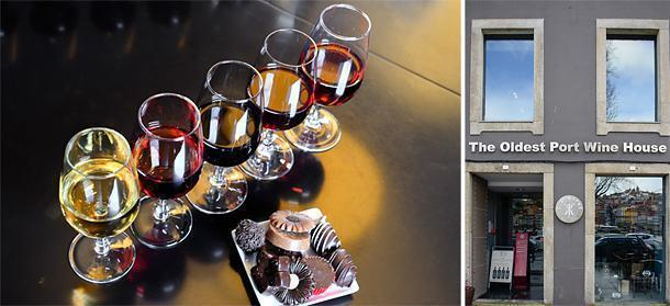 Port wine and chocolate tasting at Porto's oldest Wine House