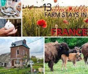 13 Incredible motorhom farm stay in France