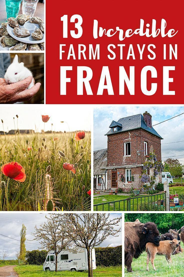 13 Incredible motorhom farm stay in France