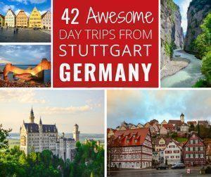 Adi shares her top 42 ultimate day trips from Stuttgart, Germany, filled with picturesque villages, food, castles, nature, and family fun. Find all the best things to do near Stuttgart in Germany and beyond.