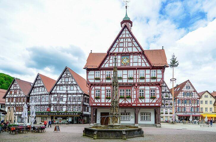 Bad Urach is one of Germany's prettiest timber-framed towns.