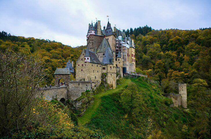 Burg Eltz is one of Germany's iconic castles.
