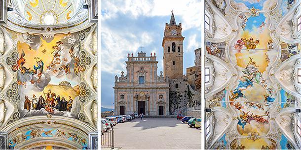 The stunning Caccamo Duomo