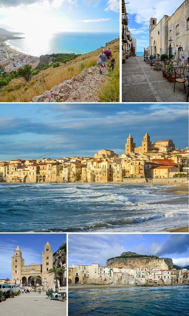 The historic centre of Cefalu