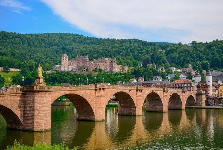A visit to Heidelberg Castle makes an excellent day trip from Stuttgart, Germany.