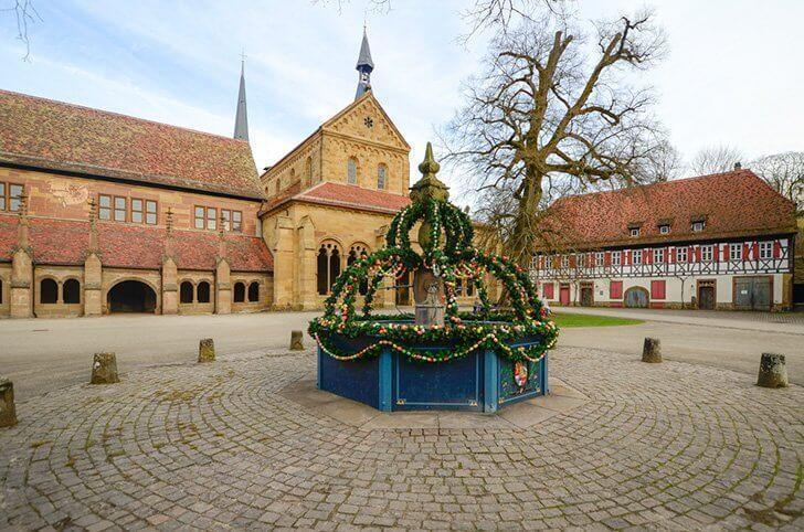 Celebrate Easter at Malbronn Abbey, Germany.