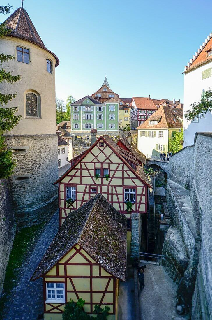 Meersburg is a picturesque German town.
