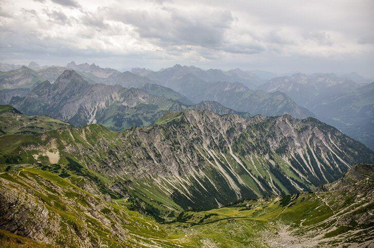 Nebelhorn in the Allgäu Alps makes a stunning day trip for the whole family.