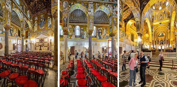 The jaw-dropping mosaics of The Palatine Chapel, Palermo