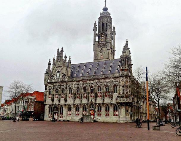 The magnificent Gothic town hall