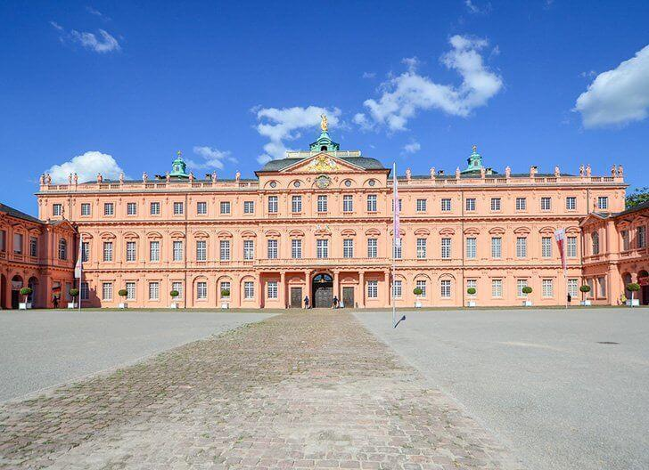 Rastatt Residential Palace is a lovely German day trip.