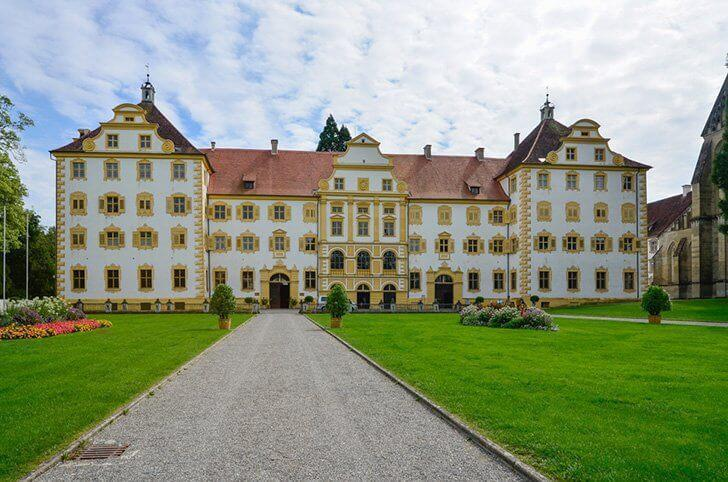 Salem Abbey and Palace is an excellent day trip in Southern Germany