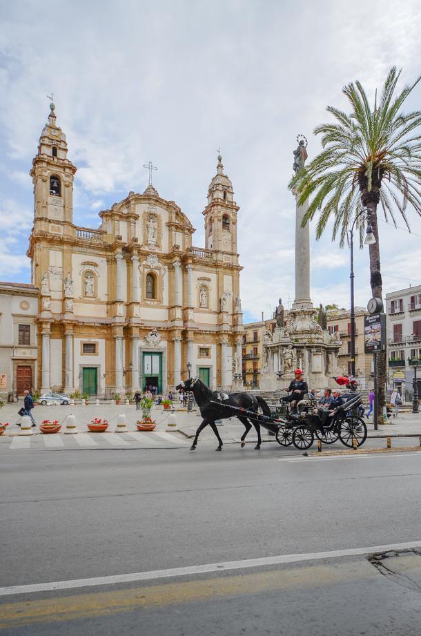 San Domenico Church, Palermo, Sicily