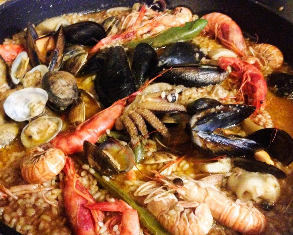 Seafood Paella - a must-try foodie experience in Barcelona, just not where you might think