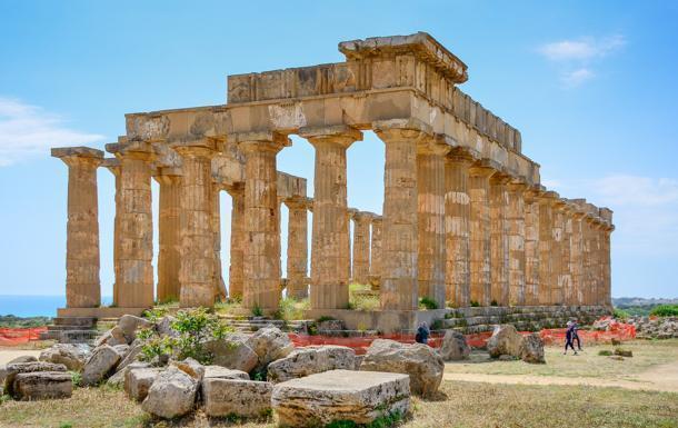 Selinunte archaeological park