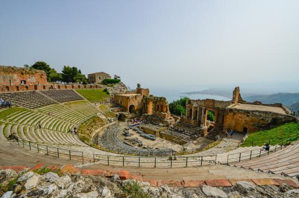 Taormina Amphitheatre, Sicily